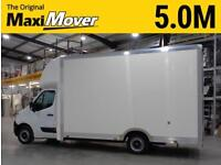 2015 (65) Vauxhall Movano XXLWB 5.0M Maxi Mover Low Floor / Low Loader Luton Van