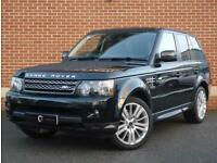 2012 12 Land Rover Range Rover Sport 3.0 SD V6 HSE (Luxury Pack) 4X4 5dr (Black)