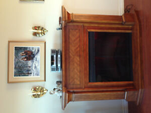 Electric mantle fireplace