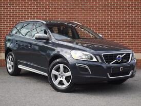 2013 13 Volvo XC60 2.4 D4 R-Design Lux Geartronic AWD (Nav) (Grey, Diesel)