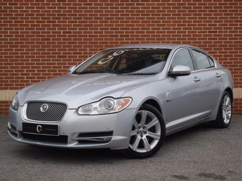 2009 59 Jaguar XF 3.0 TD V6 Luxury 4dr (Silver, Diesel ...