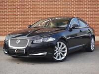 2013 13 Jaguar XF 3.0 TD V6 Premium Luxury 4dr (start/stop)(Black, Diesel)