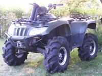 08 arctic cat 700 4x4