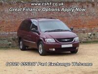 2002 CHRYSLER GRAND VOYAGER 2.5 CRD Limited