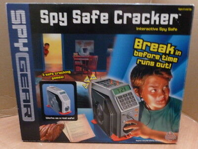 Spy Gear Safe (SPY SAFE CRACKER by WILD PLANET INTERACTIVE SPY GEAR GAME & REAL SAFE)