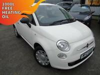 2012 Fiat 500 1.2 POP - White - Platinum warranty!