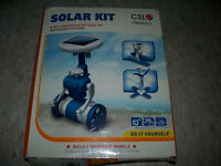 6 in 1 Solar Kit:Windmill,Robot,Helicopter,Plane,Wheeler,Airboat