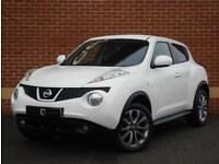 2013 13 Nissan Juke 1.5 dCi Tekna 5dr (White, Diesel)