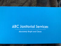 ABC Janitorial Services- commercial/industrial cleaning
