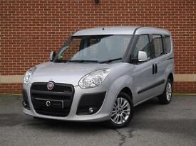 2013 63 Fiat Doblo 1.6 Multijet 16v Eleganza 5dr (Silver, Petrol)