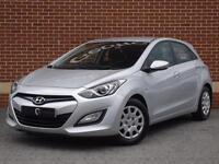 2014 64 Hyundai I30 1.4 Classic 5dr (Silver, Petrol)