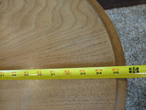 Vintage 1940's Oval Hallway Table in solid decent shape Kitchener / Waterloo Kitchener Area image 5