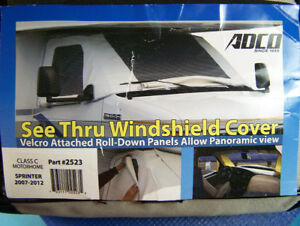 ADCO  See Through Deluxe Windshield Cover For RV Class C,B, Etc.