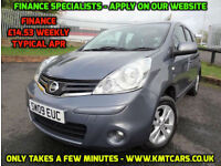 2009 Nissan Note 1.5dCi ( 86ps ) Acenta - ONLY 56000mls - KMT Cars