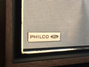 Philco Ford radio