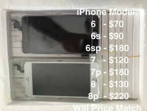 iPhone Screen Replacements and Repairs AAA Quality