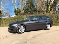 2007 07 BMW 320d SE TOURING 6 SPEED MANUAL GREY EXCEPTIONAL CONDITION