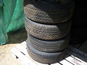 P205/70R14 Tires and Rims