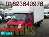 FORD TRANSIT T350 EF 100PS 6 SPEED BIG LUTON SAME DAY FINANCE CALL NOW