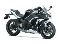 New 2020 Kawasaki Ninja 650 ABS*LAST 1*BLACK & WHITE*SAVE £600 & 3 Years 0% APR*