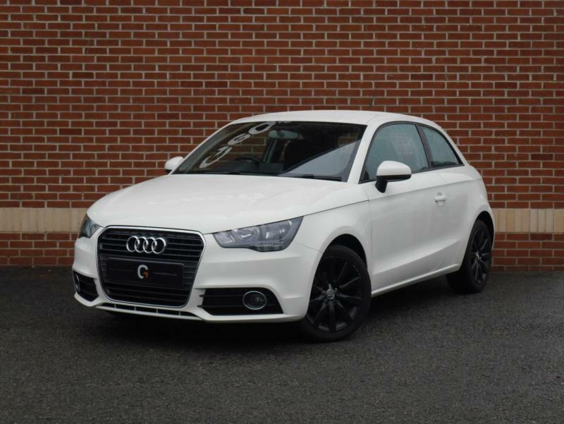 2012 12 audi a1 1 2 tfsi sport 3dr white petrol in ripley derbyshire gumtree. Black Bedroom Furniture Sets. Home Design Ideas