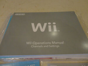 Wii Operations Manual - owners manual in Mint Condition Kitchener / Waterloo Kitchener Area image 2