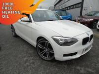 2011 BMW 116 2.0TD Sports Hatchd ES - White - Platinum Warranty!