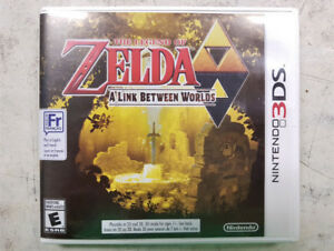 Zelda a Link Between Worlds 3DS Game
