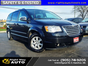 2010 Chrysler Town & Country Touring   SAFETY & E-TESTED