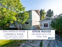 OPEN HOUSE: Saturday Nov 16th 12-4pm. Renovated Home with Shop