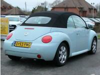 2003 Volkswagen Beetle 2.0 Cabriolet 2 Door Convertible Petrol Manual