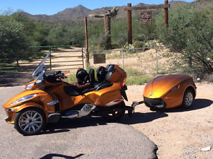 2014 Can Am Spyder & Trailer for sale