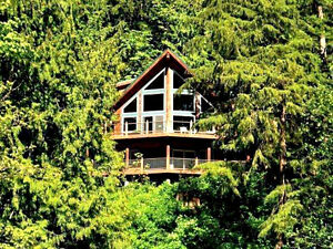 Mt. Baker Lodging - Cabin #7 - LAKEFRONT,HOT TUB,PETS OK,SLP-10!