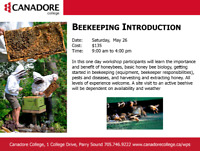 Beekeeping, Intro, Parry Sound, Canadore