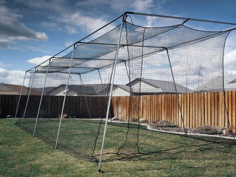 Backyard Batting Cage Ideas backyard batting cages 1000 images about batting cages on pinterest home high schools minimalist How To Build A Backyard Batting Cage