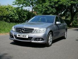 2012 Mercedes-Benz C Class 2.1 C220 CDI BlueEFFICIENCY SE 4dr