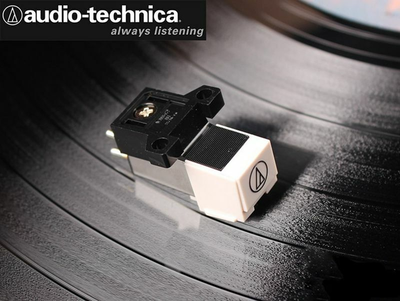 1pcs Audio-technica MM LP vinyl record player magnetic magne