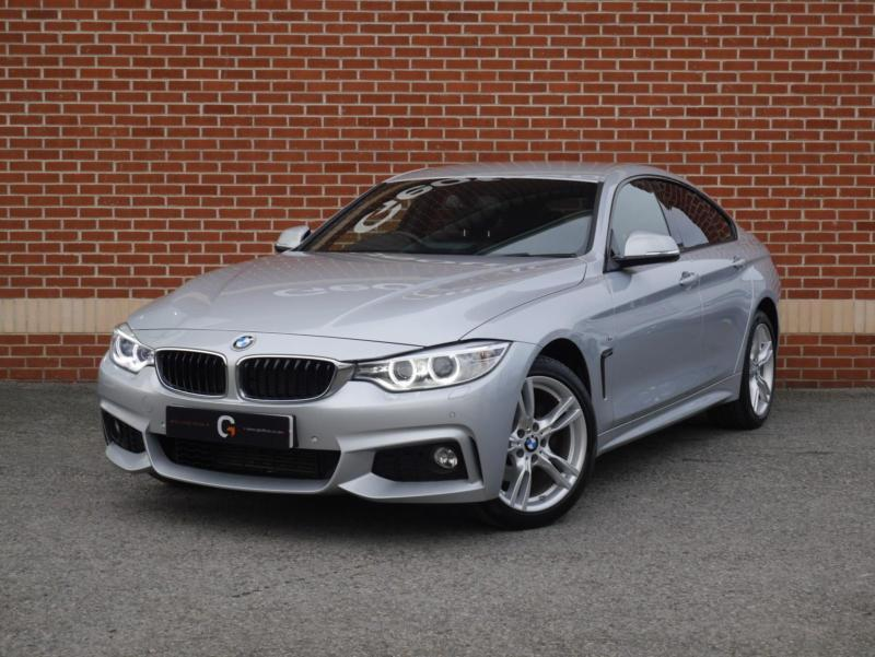 2015 15 bmw 4 series gran coupe 2 0 420d m sport xdrive silver diesel in ripley derbyshire. Black Bedroom Furniture Sets. Home Design Ideas