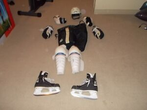 Full Set of Adult Male Hockey Equipment