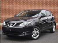 2014 64 Nissan Qashqai 1.5 dCi Acenta Premium 5dr (Black, Diesel)