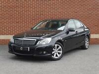 2012 12 Mercedes-Benz C Class 2.1 C220 CDI BlueEfficiency SE 7G-Tronic (Black)