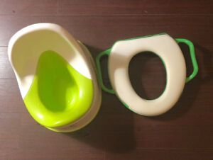 Potty chair and seat