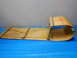 VINTAGE PLAY MAKER CHILD'S TOBOGGAN