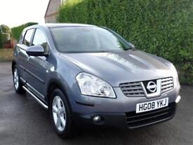 NISSAN QASHQAI 2.0 6 SPEED MANUAL ( ONLY ONE FORMER KEEPER ) TOP SPEC
