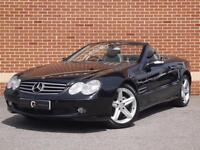 2004 54 Mercedes SL Class 3.7 SL350 2dr (Black, Petrol)