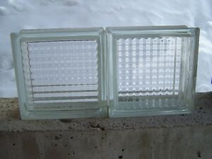 New glass blocks for sale