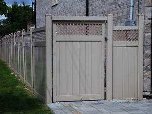 All Season Fencing LTD get a quote for PVC Fence made in Toronto
