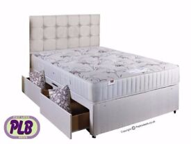 ALL TYPE OF POCKET SPRUNG BED SETS-- BRAND NEW DIVAN BED WITH 1000 POCKET SPRUNG MATTRESS!