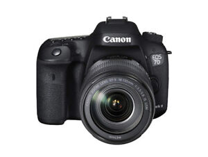Canon EOS 7D Mark II Digital SLR Camera with EF-S 18-135mm, New
