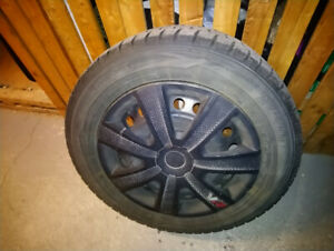 Winter Tires and Rims 205 / 60R 16 96T